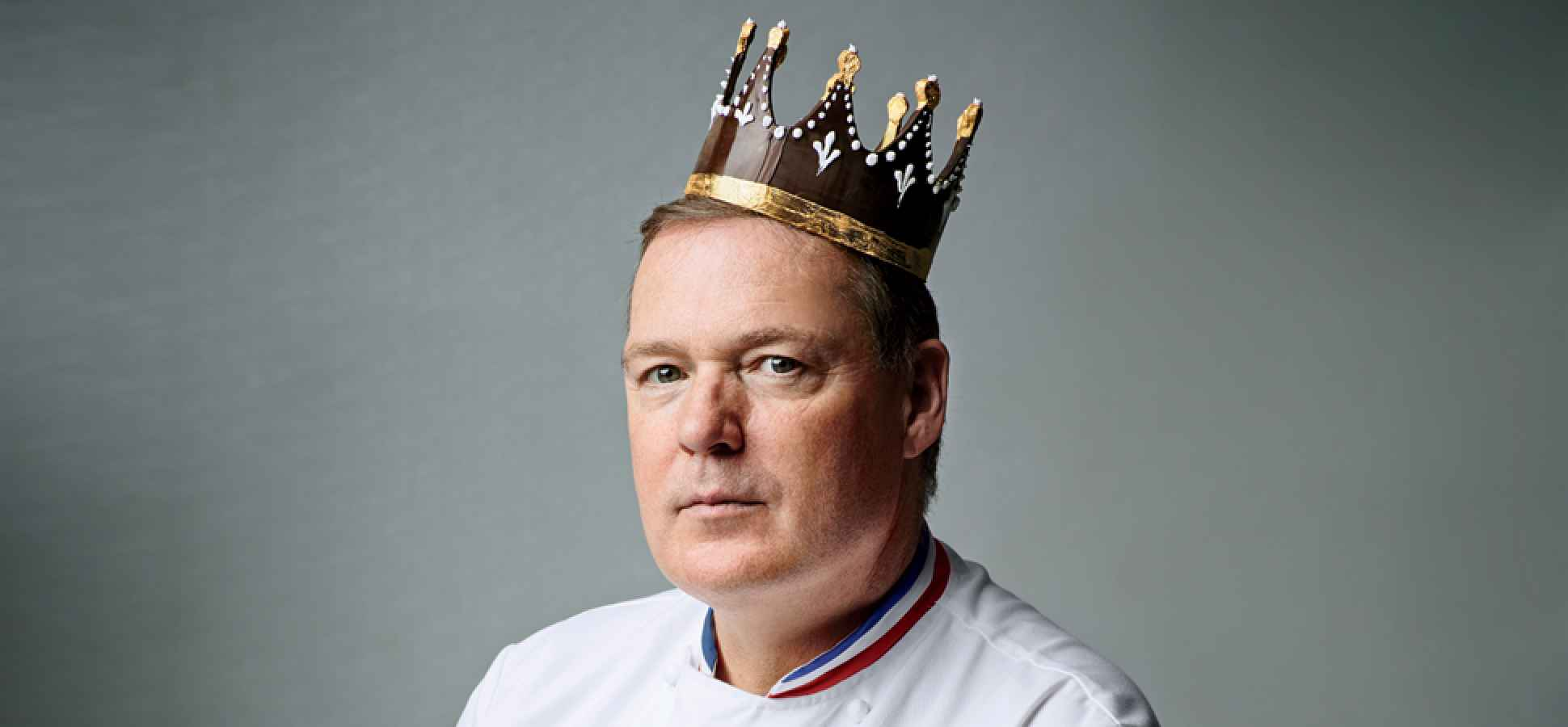 The 58-year old son of father (?) and mother(?), 180 cm tall Jacques Torres in 2018 photo