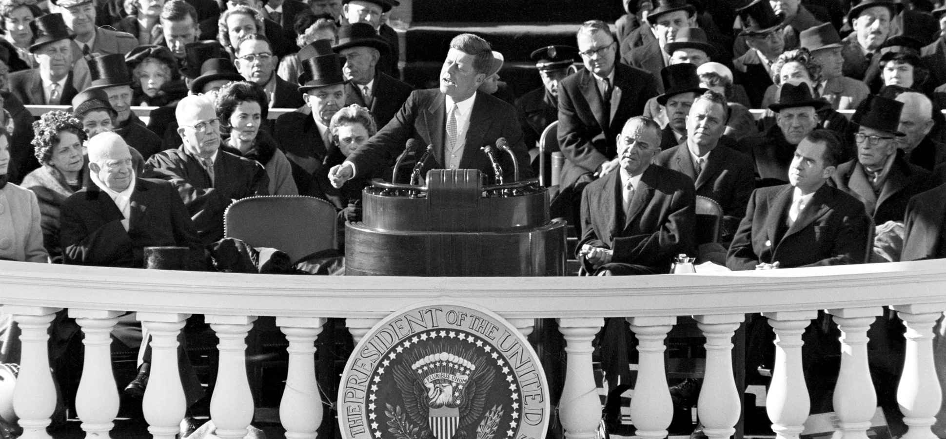 Image result for President Kennedy inaugural address