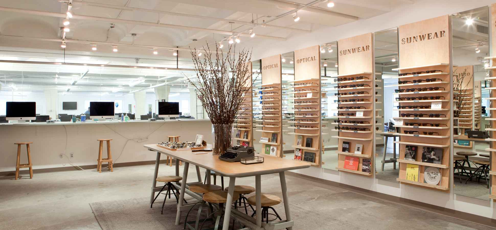 gallery for warby parker store