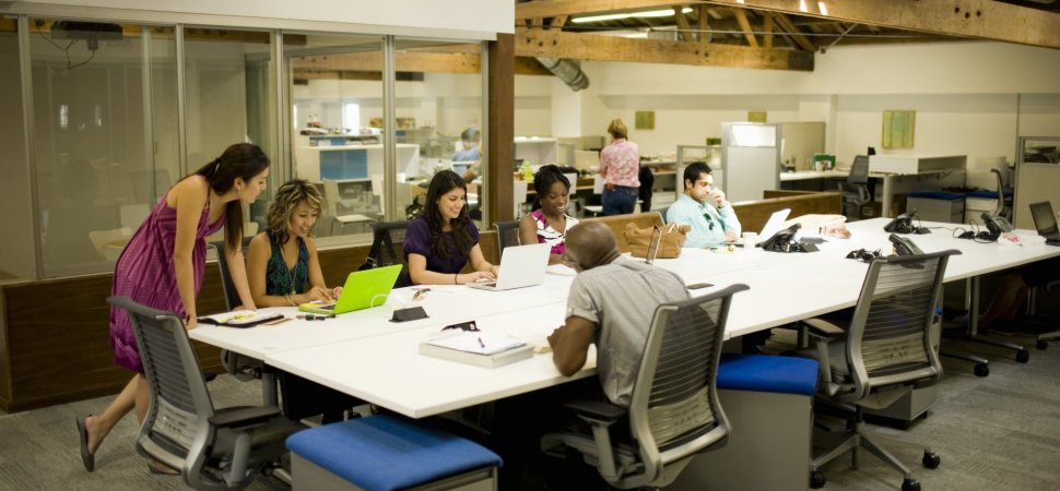 The Secret To Work Space Design Your Employees Will