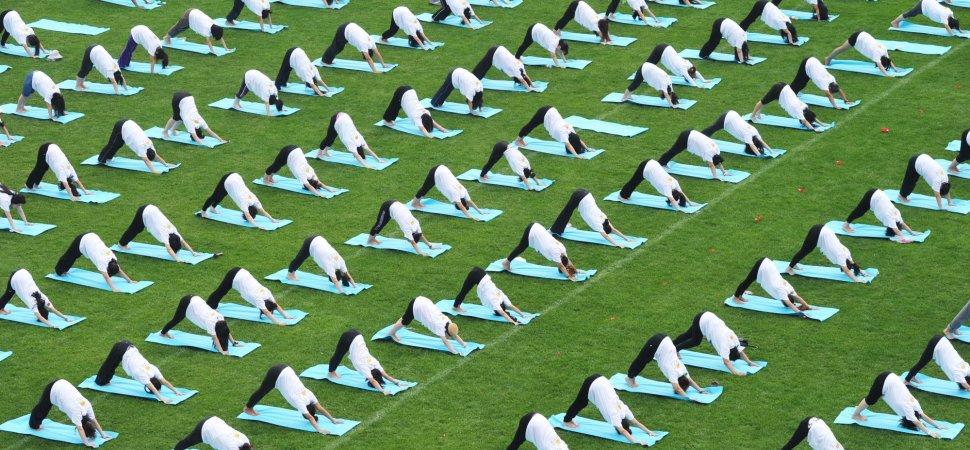 yoga-on-green-park
