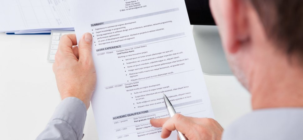 5 key elements of an effective resume