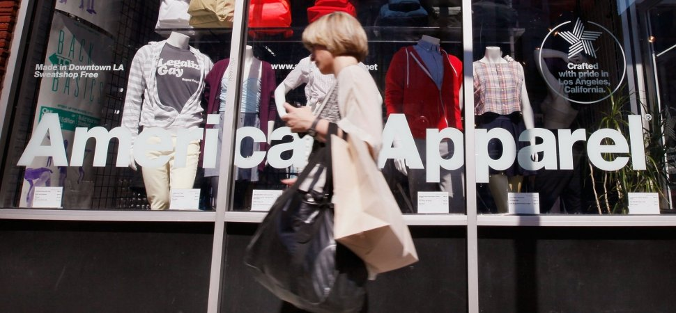 Amazon Reportedly Makes Bid for American Apparel