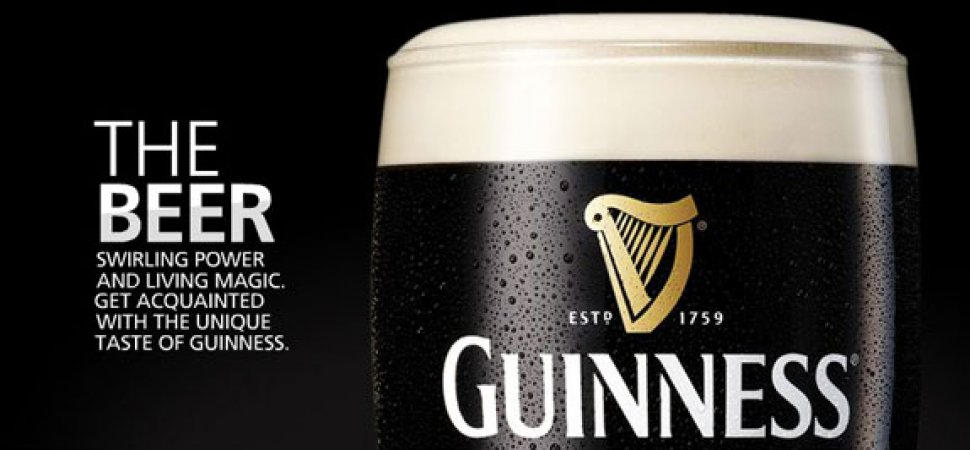 Just in time for st patrick s day top 5 irish brands - Guinness beer images ...