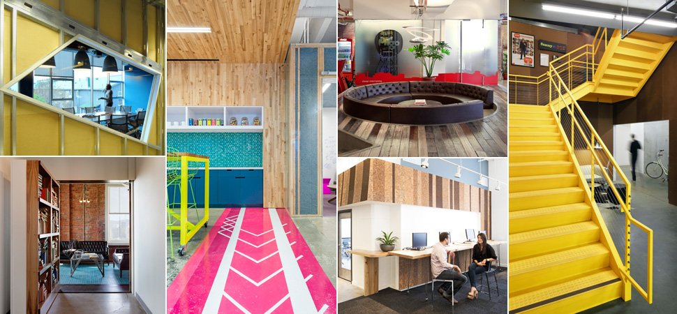 World 39 s coolest offices brilliant interior designs for Interesting office interiors