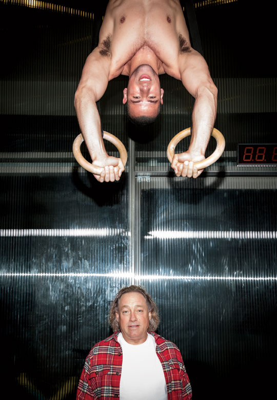 <strong>ROLE MODEL</strong> Glassman is no longer living the life himself, but he inspires fierce loyalty in some of the world's fittest people.