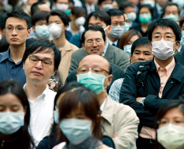 <strong>CHINA, 2003</strong> China's greatest vulnerability is public unrest. Could another SARS outbreak provoke it?