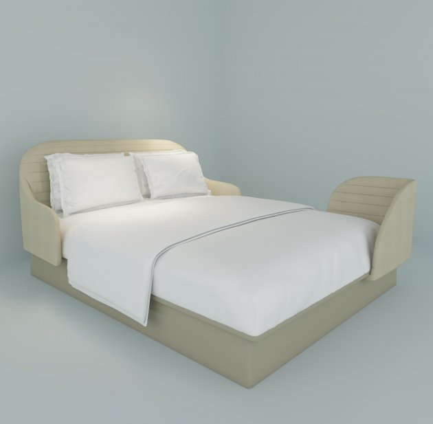this is richard branson 39 s vision for the hotel bed of the future. Black Bedroom Furniture Sets. Home Design Ideas