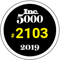 Dribbble: Number 2103 on the 2019 Inc. 5000