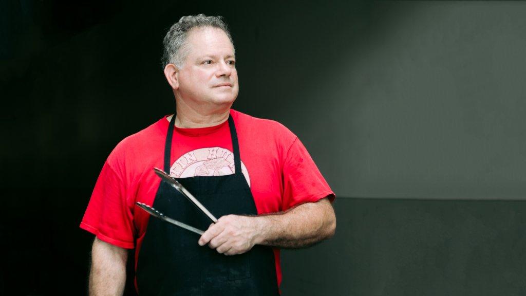 Frank Diaz, owner of Tin Hut BBQ.