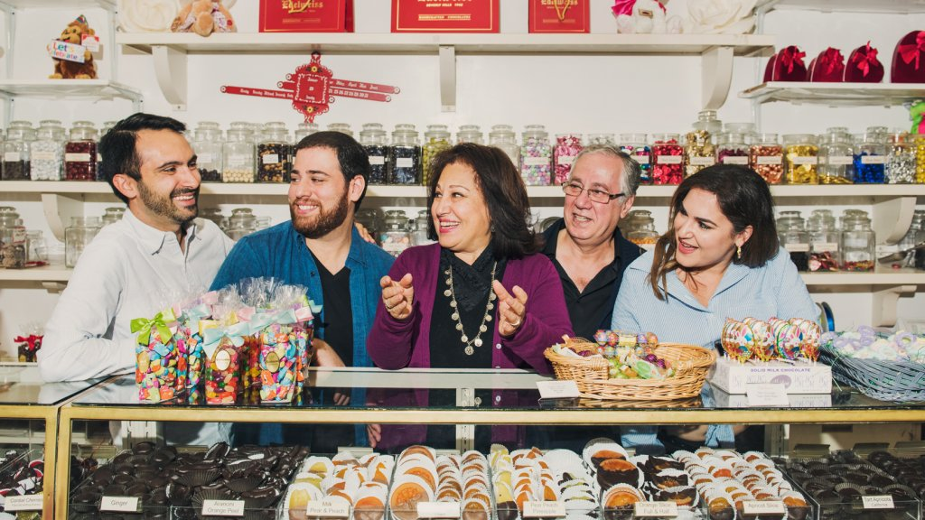 Beverly Hills-based Edelweiss Chocolates has been run by the Zahir family for multiple generations.