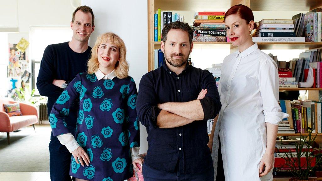 From left: Philippe von Borries, Piera Gelardi, Justin Stefano, and Christene Barberich.