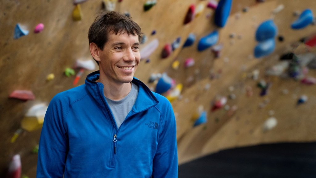 """Alex Honnold, the first rock climber to """"free solo"""" El Capitan, was the keynote speaker at a day-long learning event held in conjunction with EO Boston and Lexington Wealth Management."""