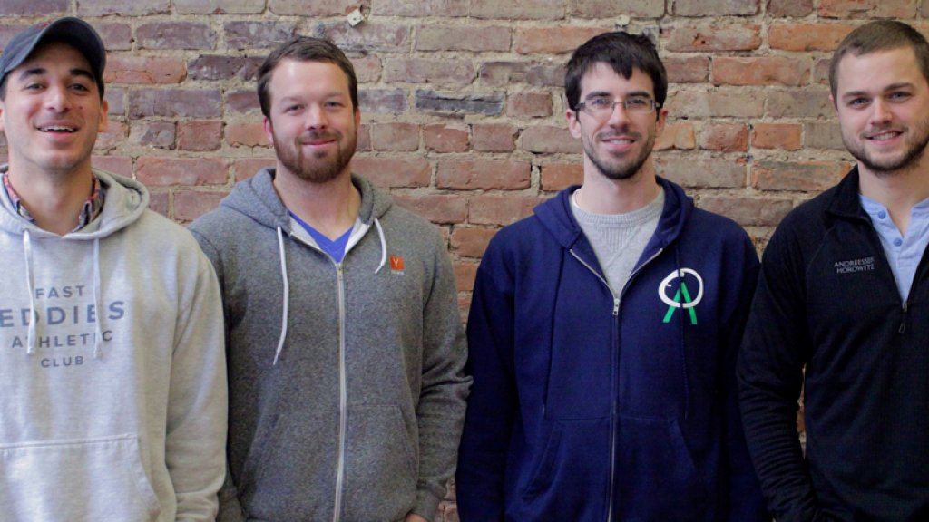 Ambition's founding foursome (left to right): Travis Truett, Brian Trautschold, Wes Kendall, and Jared Houghton.