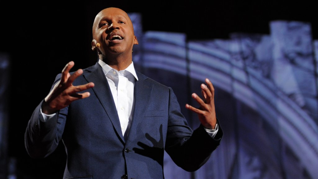 Human rights attorney and author Bryan Stevenson.