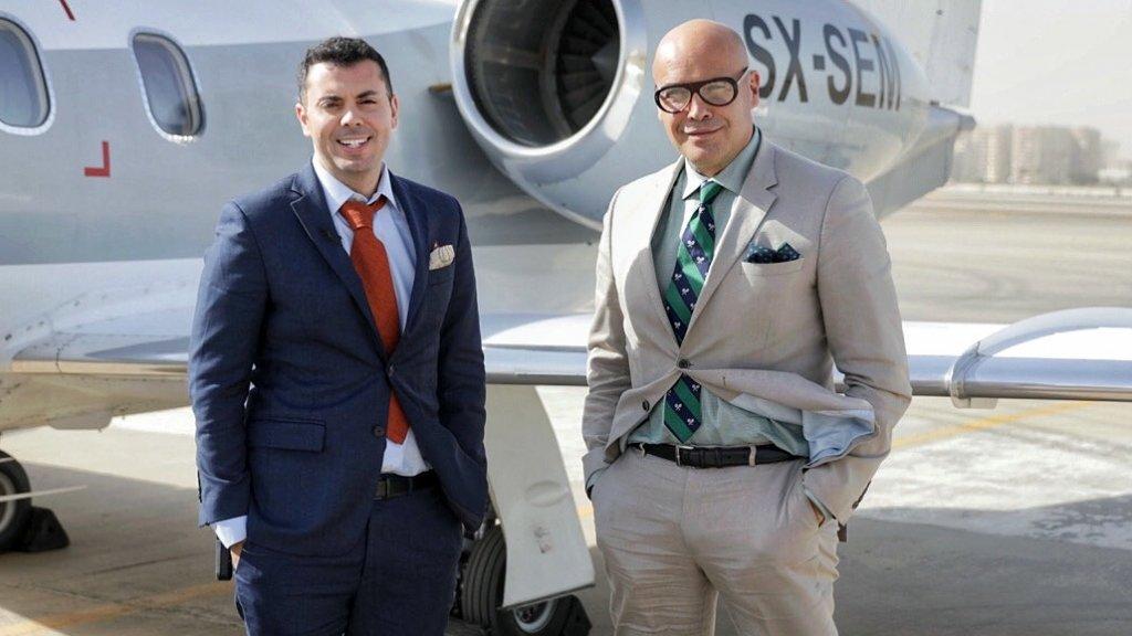 Ahmed Shanana & Billy Zane on the global Parkpine roadshow and Global Ventures Summit.