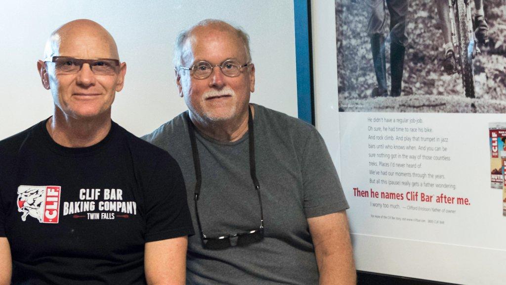 Gary Erickson (left) and Doug Gilmour.