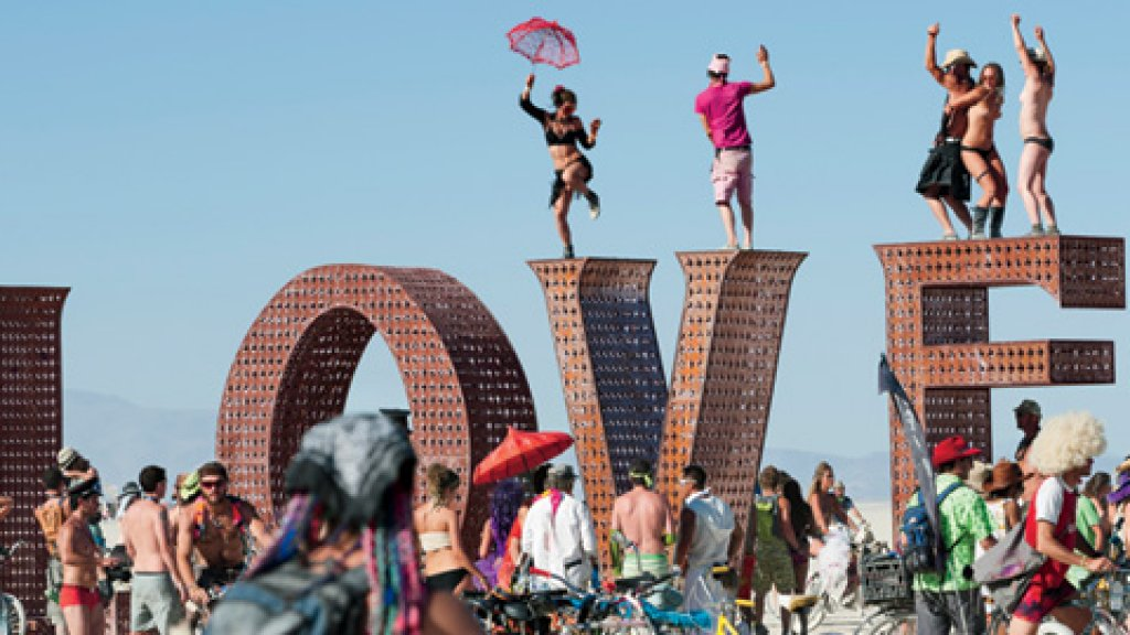 <b>FEELING IT:</b> At the end of every summer, Burning Man brings 50,000 celebrants to the desert. And that's worth something.