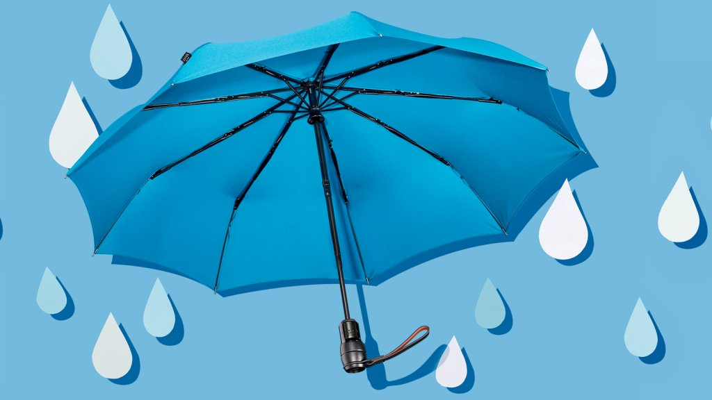 A $135 Umbrella? This High-Tech Model Is Almost Impossible to Lose