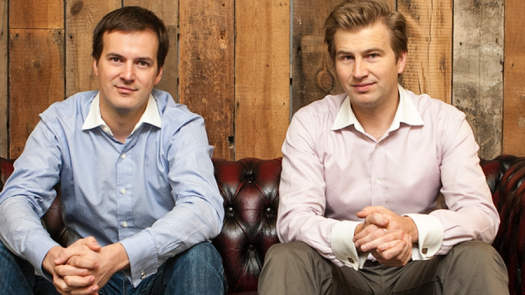 Taavet Henrikus and Kristo Käärmann, right, co-founded TransferWise to eliminate unnecessary bank fees for international money transfers.