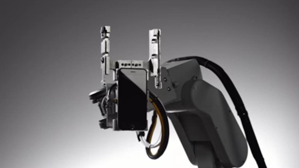 Apple's Liam robot.