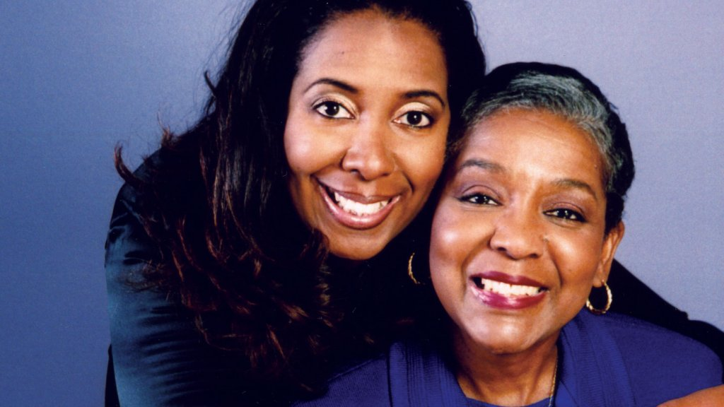 <strong>Changes</strong> Michelle Taylor, pictured here with her mother, Wilhelmina Bell-Taylor, took over her mother's company.