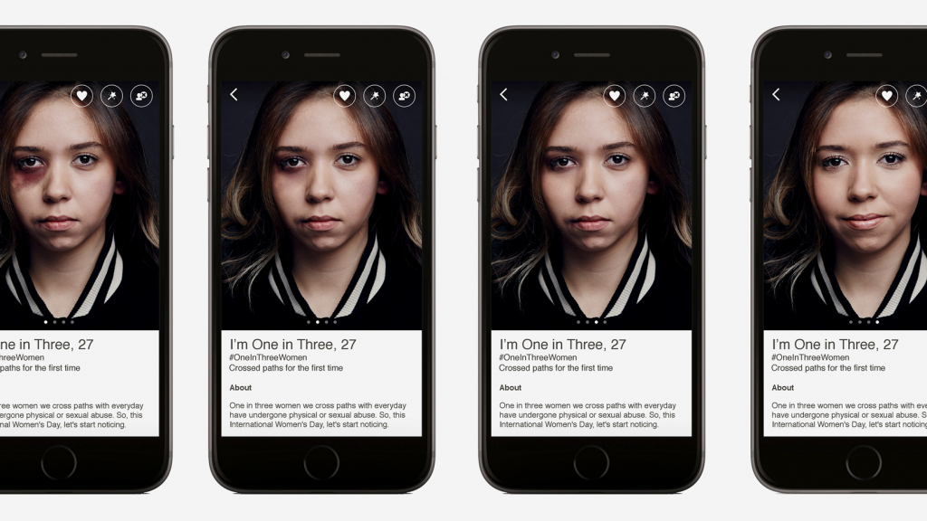 French Dating App Happn Uses an Aggressive Strategy to Raise Awareness for Violence Against Women