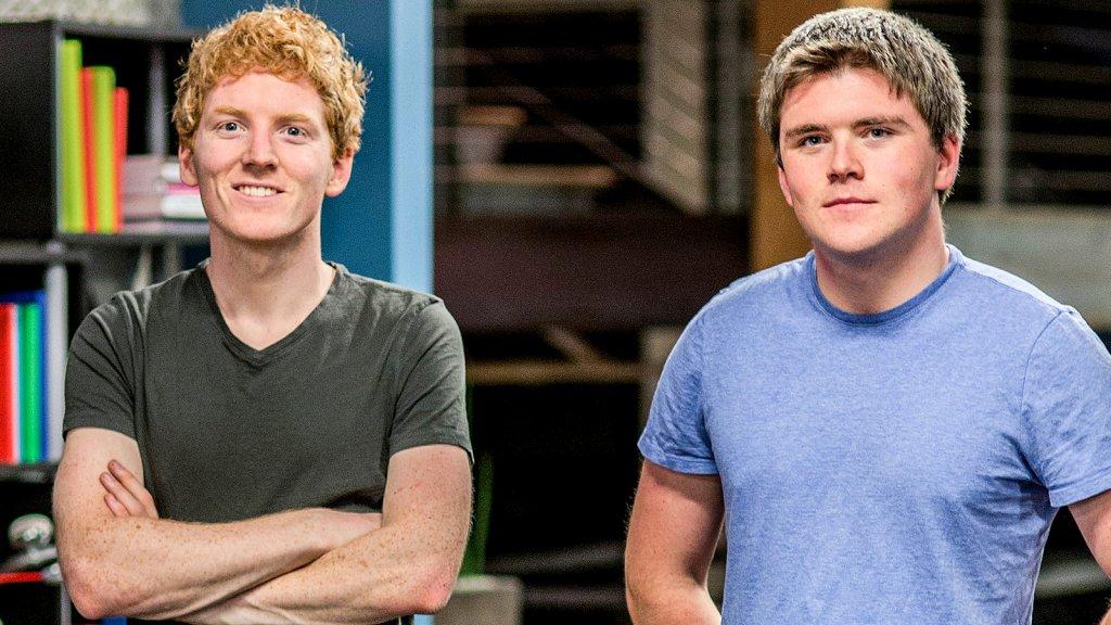 Patrick and John Collison.