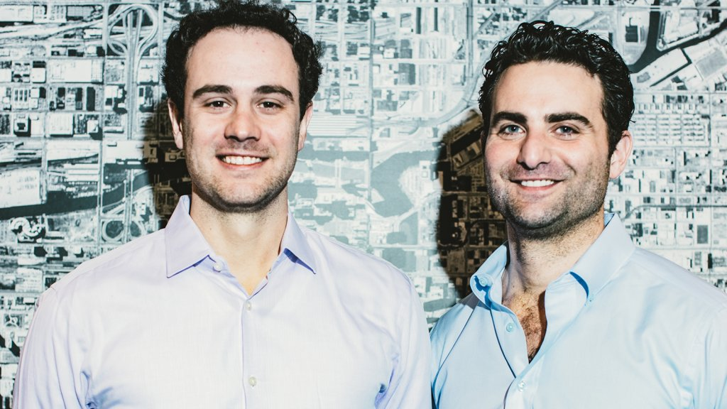 RXBAR co-founders Jared Smith (left) and Peter Rahal.