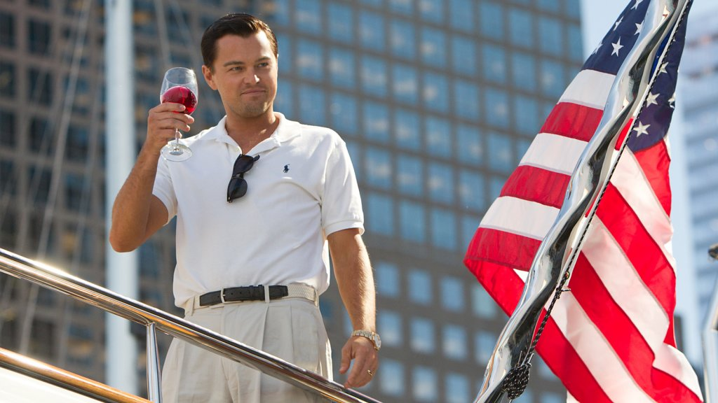 <i>The Wolf of Wall Street.</i>