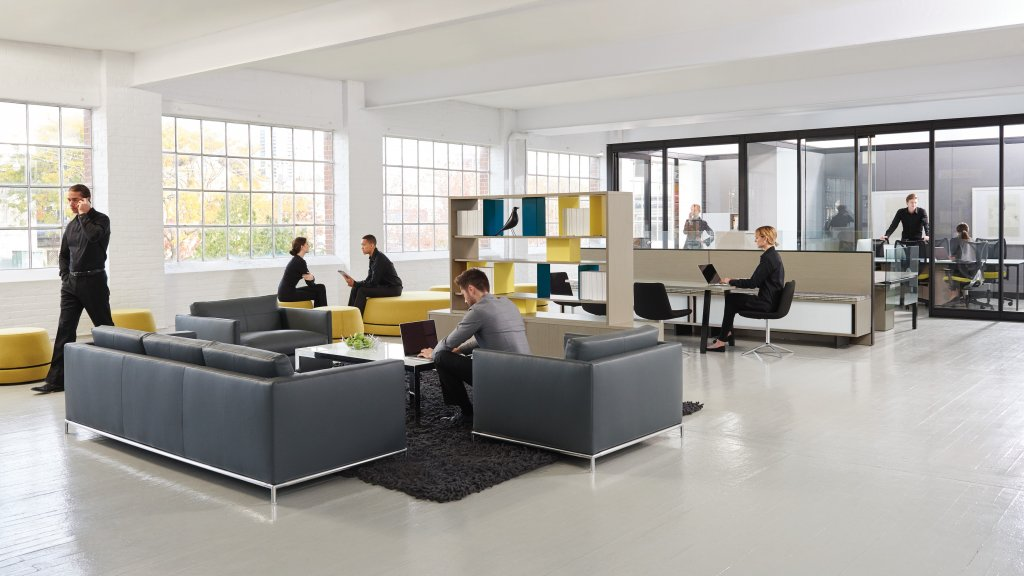 Teknion UpStage is the office design that scales with your company