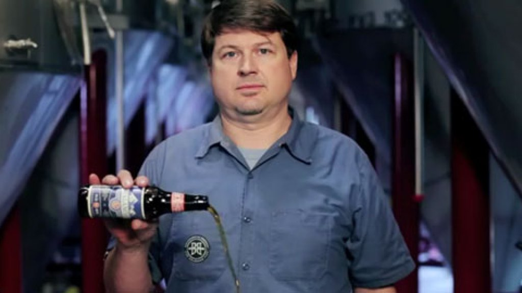 """A video from Breckenridge Brewery highlights the beer's """"Gravity Activated Pouring."""""""