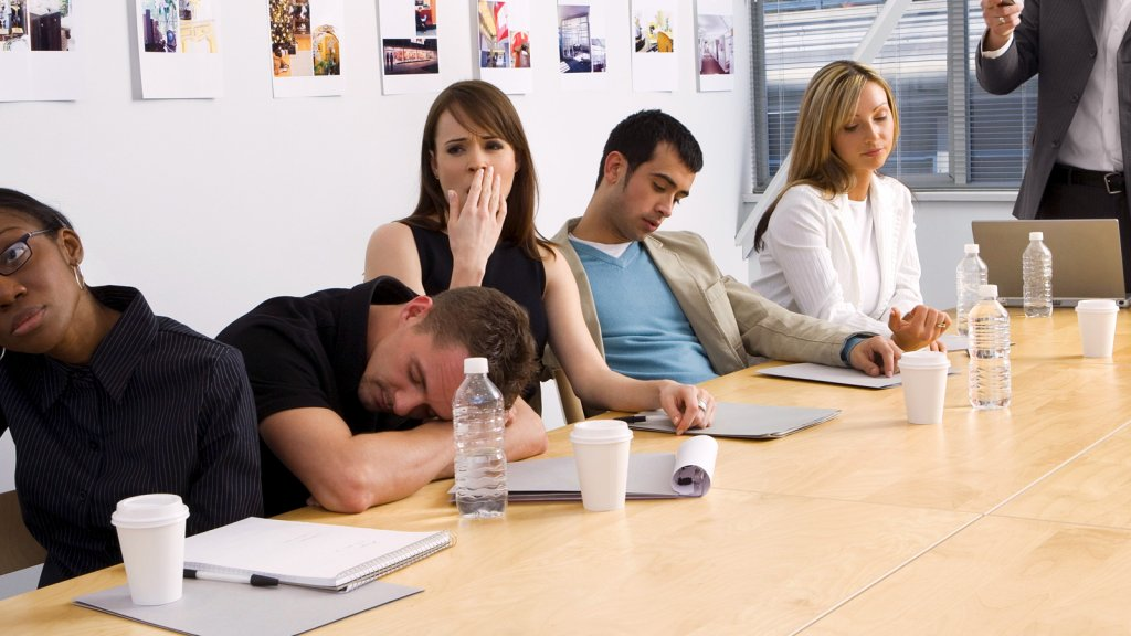 Stuck in a Boring Meeting? 6 Ways to Be Productive   Inc.com