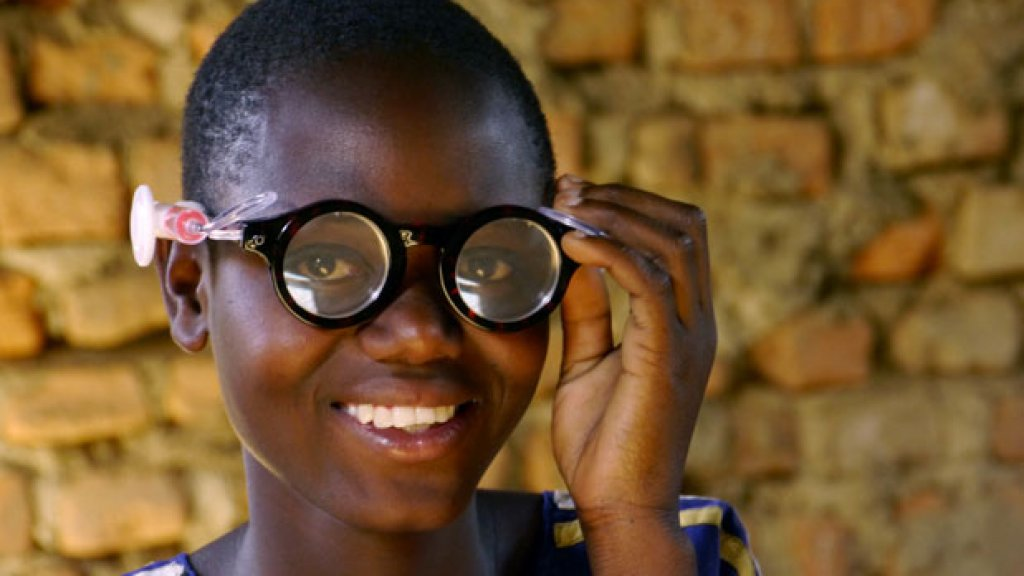 Disruptive Innovation--One Pair of Glasses at a Time