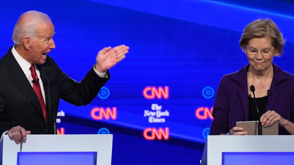 'You Did a Hell of a Job.' Biden's Condescension to Warren at the Debate Sounds Familiar to Professional Women