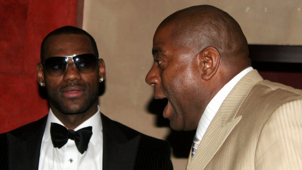 LeBron James Just Revealed That Magic Johnson Ghosted Him. James Isn't Alone In This Growing Workplace Trend