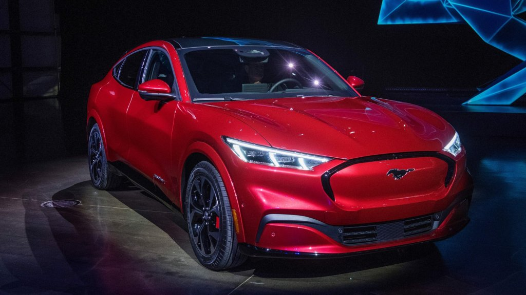 Ford Just Launched a Serious Challenge to Tesla With an All-Electric Mustang Mach-E SUV