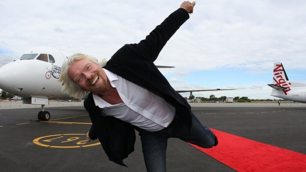 Richard Branson's 10-Step Plan for Achieving All Your Goals