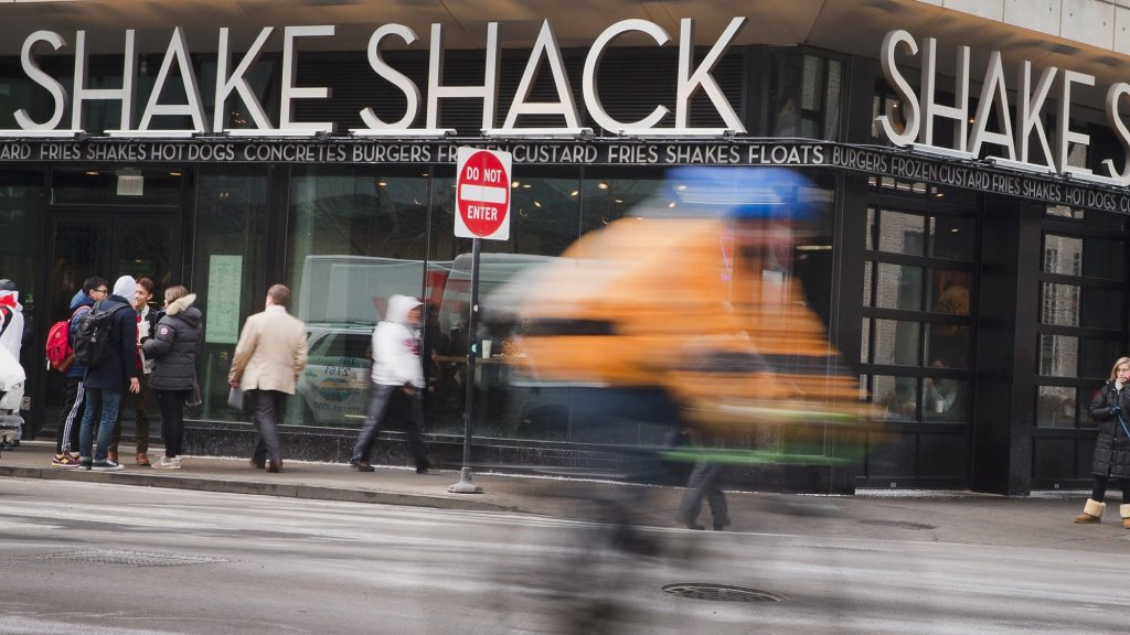 Shake Shack's Stock Sinks on Combination of Fourth Quarter Results, Outlook