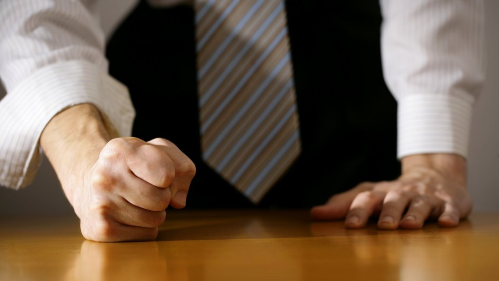 4 Ways to Deal With an Overly Aggressive Employee
