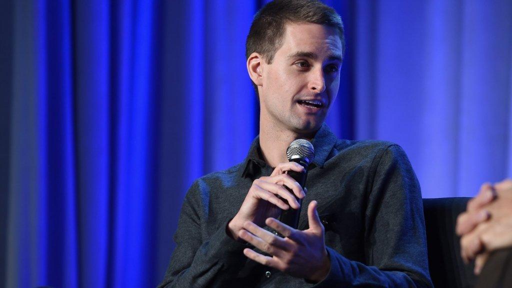 Snap CEO Evan Spiegel Takes Jab at Mark Zuckerberg's Facebook