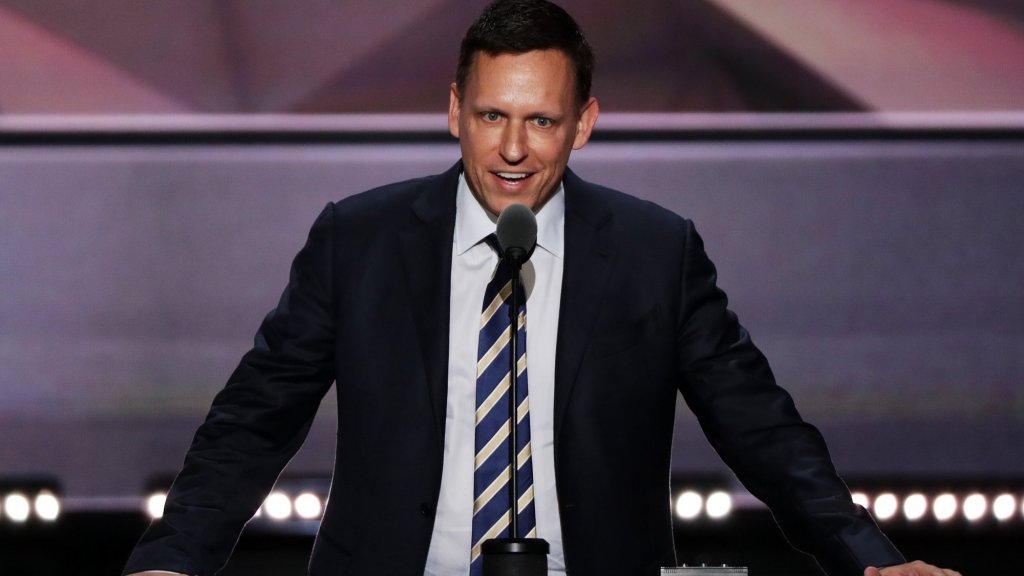 Peter Thiel Is Very, Very Interested in Young People's Blood