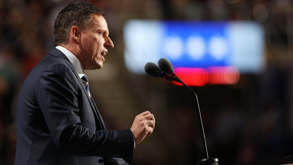 Peter Thiel Endorses Donald Trump: 'It's Time to End the Era of Stupid Wars and Rebuild Our Country'