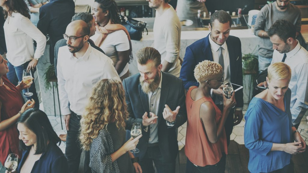 Why Networking Events Won't Help You Build Your Community or Your Career