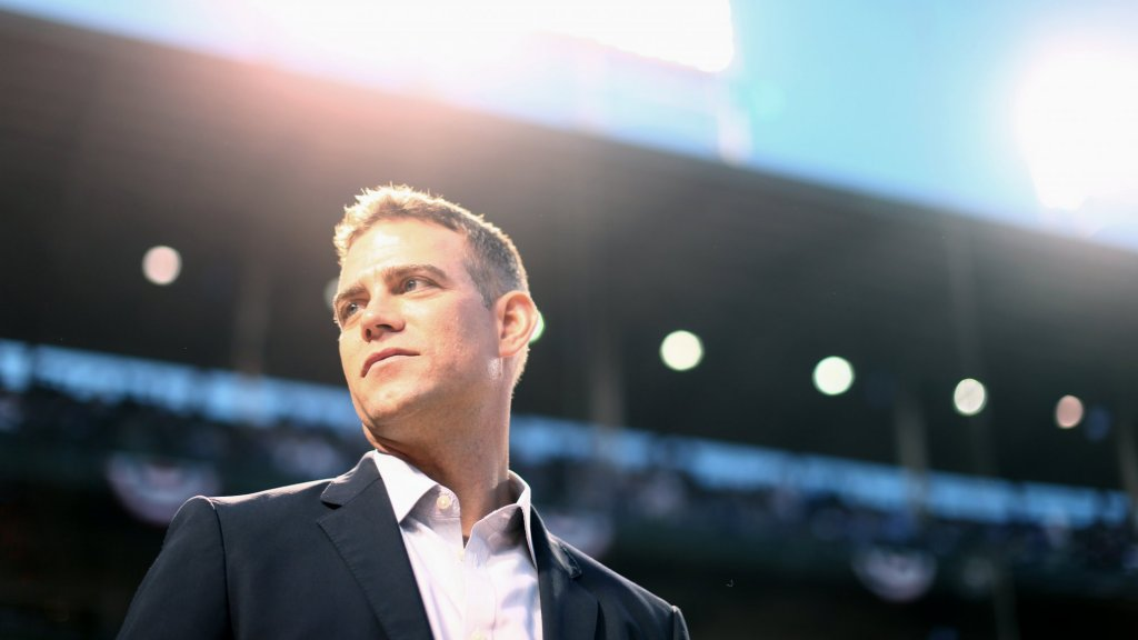 The Cubs' Theo Epstein Is Named World's Greatest Leader. He Shows Why in One Sentence