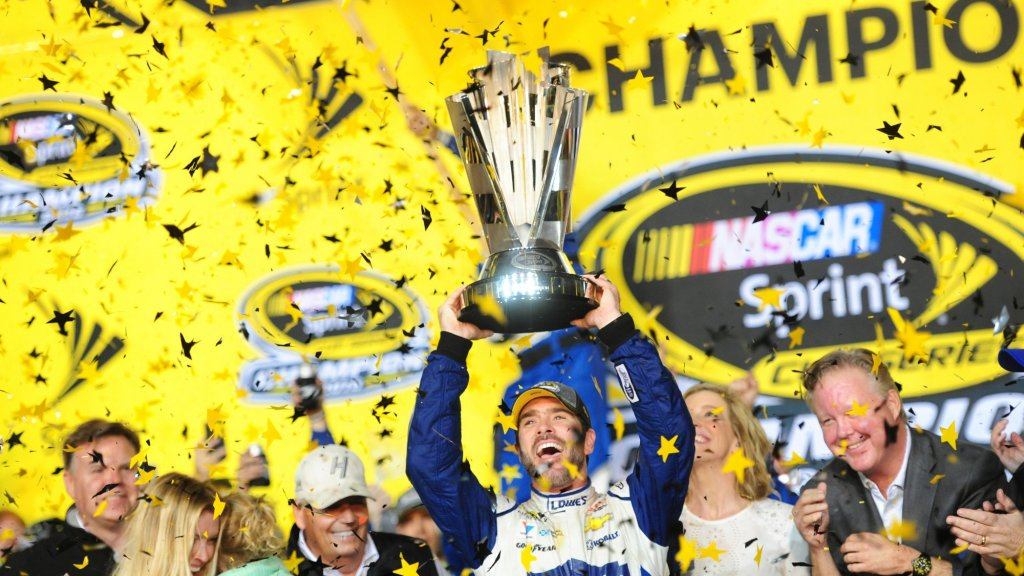 From a Friend's Couch to 7-Time Nascar Champion: An Exclusive Interview With Jimmie Johnson