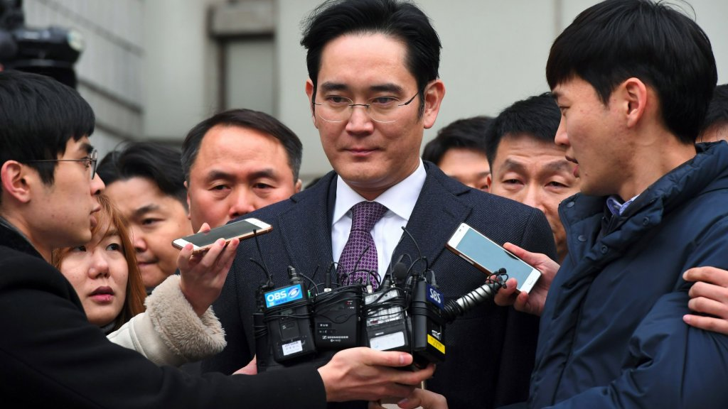 After 90 Years, Samsung Control Is No Longer a Birthright