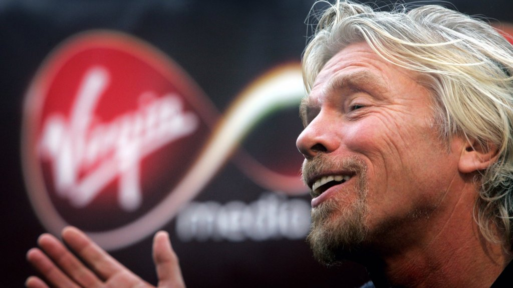 How Richard Branson Plans to Make Over $7 Million a Year From ... Recruiting?