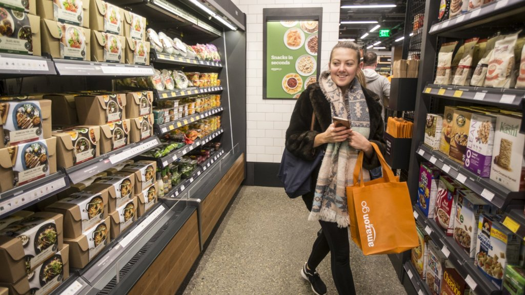 Why Amazon Go Is the Perfect Example of a Great Second Act