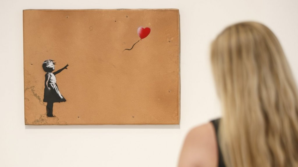 Banksy's 1.4 Million Painting Literally Self-Destructed at Auction--Teaching a Priceless Lesson About Branding